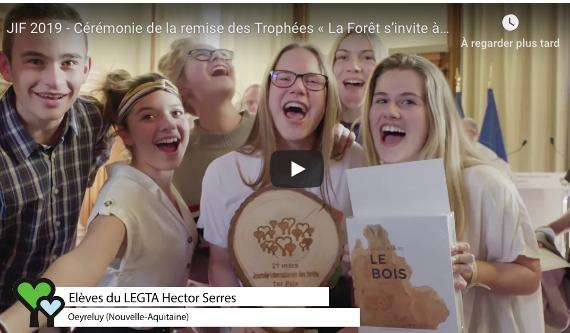 JIF 2019 Ceremonie des trophees