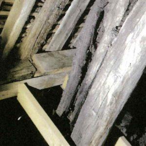 Etat sanitaire de la charpente : Pied de ferme