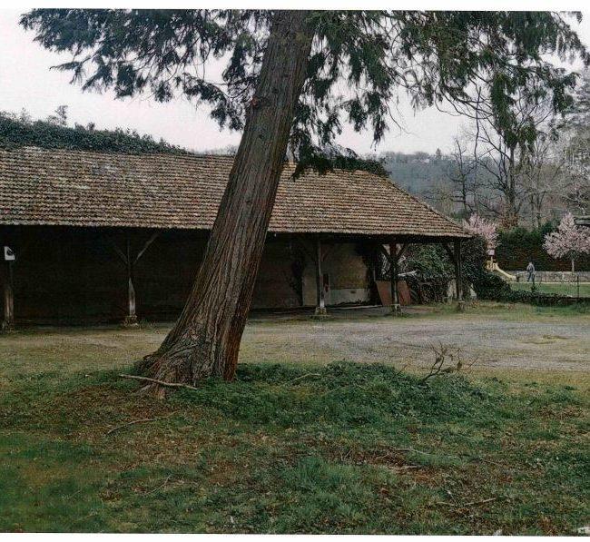 Préau de la cour de l'ancienne école des filles - Bagnac-sur-Célé